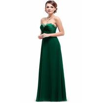 Baituya Vestido De Boda De Noche De Baile Largo Verde