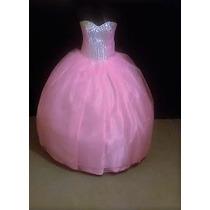 Oferta Vestido De Quince Xv Años Nuevo Color Rosa Pastel
