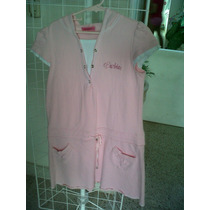 Primoroso Vestido Rosa P/niña Marca Barbie, Original, T.10