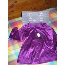 Bcbg Maxazria :: Hermosa Blusa Color Púrpura :: Vbf