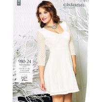 Vestido Casual 980-24 Cklass