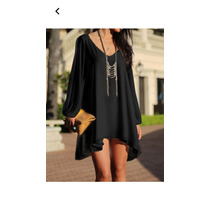 Vestido Negro Hermoso