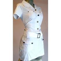 Oferta Mini Vestido Bluson Popelina Algodon Moda Primavera