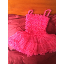 Lindo Tutú Vestido Rosa Talla 6