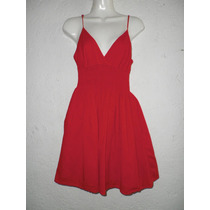 Mini Dress Vestido Rojo Xhilaration Talla 14 - 16 Años Playa