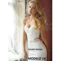 Vestido De Novia Nuevo Barato Bonito Elegante Boda Modelo 16