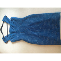 Vestido Bcbg Azul Talla M, Super Elegante.