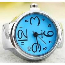 Padrisimos Y Hermosos Anillos Reloj En Varios Colores