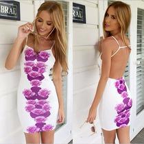 Vestido Flores Moda Primavera 2016 Falda Casual Playa Antro
