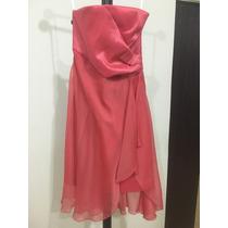 Vestido Formal Liz Minelli: Corto, Strapless
