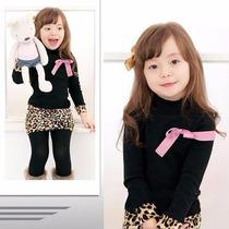 Vestido Falda Animal Print Para Niña Promocion Moda Japonesa
