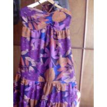 Hermoso Vestido Bohemio Y Vaporoso Colores Otoñales