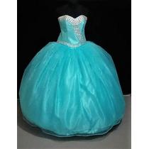Oferta Vestido De Quince Xv Años Nuevo Color Aqua