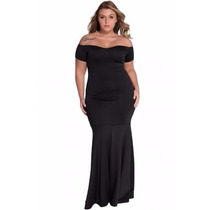 Sexy Elegante Vestido Largo Noche Fiesta 60884 Talla Extra