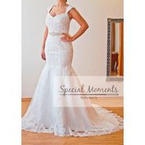 Vestido De Novia - Modelo Sirena - Marca Special Moments -