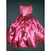 Vestido Largo De Niña Talla 6