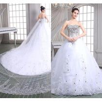Vestido De Novia Boda Elegante En Oferta + Envio Gratis