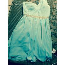 Vestido María Regina Azul Talla M