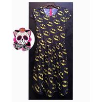 Vestido Batman Murcielago Pastel Goth Rock Punk Moda