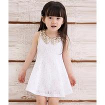 Hermoso Vestido Para Niña Lentejuela Promocion Moda Japonesa