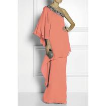 Vestido Notte By Marchesa Diseñador $1,100 Usd