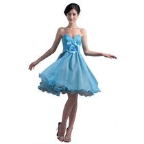 Baituya Vestido De Boda Piesta Graduacion Baile Corto