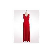 Vestido De Fiesta Rojo Marca Dressbarn Talla 4 (chico)