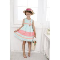 Vestido Para Niña Lovely Butterfly 5 A 6 Años