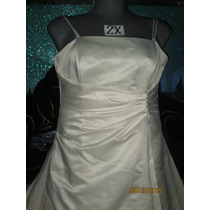Vestido De Gala Plus- Perla En Talla 2x Extragrande