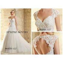 Vestido De Novia Nuevo Barato Modelo127 Vestido Ivory Blanco