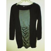 Hermoso Vestido Casual Corto Para Dama Nuevo En Color Negro