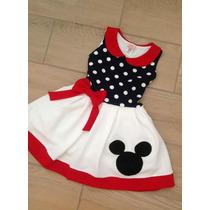 Vestido Niña Mickey Tallas 4 - 6