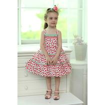 Vestido Para Niña Lovely Butterfly 7 A 8 Años Sandías