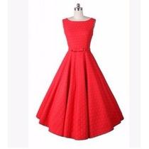 Vestido Vintage Pin Up Rojo