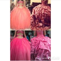 Eleganzza, Vestido De Xv Años, Color Coral Nuevo