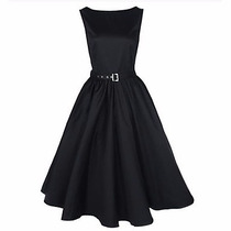 Vestido Vintage Rockabilly Pin Up, Ch, Med Y Grande