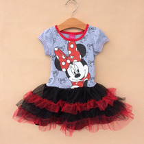 Vestido Minnie Mouse - (frozen, Peppa Pig, My Little Pony)