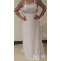 Vendo Hermoso Vestido De Novia Usado Talla 14