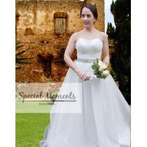 Vestido De Novia - Modelo Elegant - Marca Special Moments -