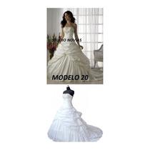 Vestido De Novia Nuevo Barato Bonito Elegante Boda Blanco 20