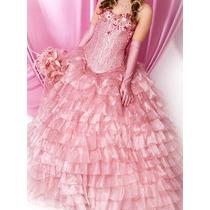 Vestido Rosa Xv Años.
