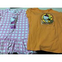 Lote Vestido Y Blusa Hello Kitty 3 Años Niña