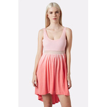 Vestido Casual Dress Topshop Oferta Largo Corto Ombre