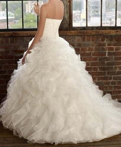 Vestidos de novia ampones - Imagui