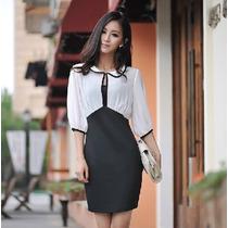 Vestido Casual Elegante Estilo Japonés Envío Gratis 460