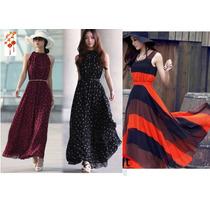 Moda Japonesa Oriental Asiatic Vestido Largo Maxi Dress S Xl
