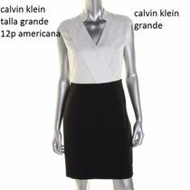 Vestido Calvin Klein Talla Grande Original