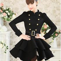 Vestido Chamarra Saco Corto Moda Japonesa Envío Gratis 564