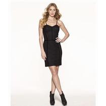 Vestido Negro Nuevo Corto Tirantes Jessica Simpson