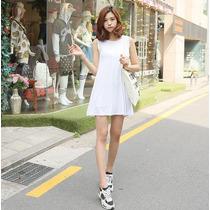 Vestido Corto Casual Moda Asiática Coreana 2206